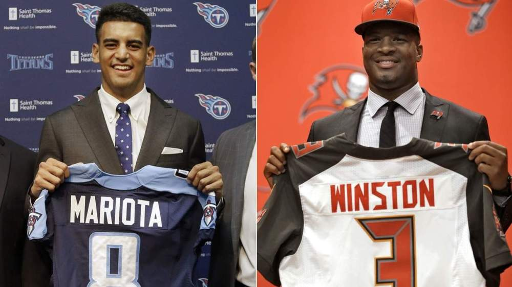 Marcus Mariota and Jameis Winston will try to lead their respective squads to improbable turnarounds.